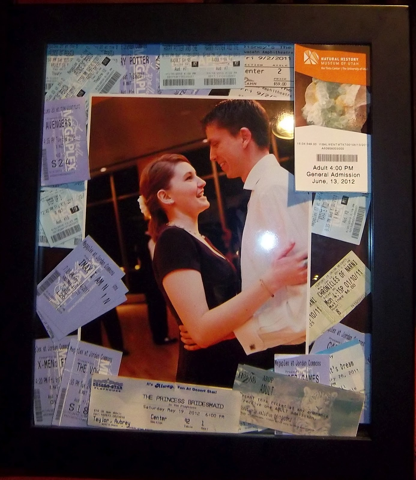 Admit One Concert Ticket Template An admit one shadow box: