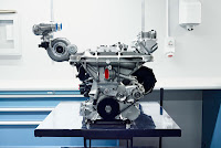 Jaguar C-X75 Hybrid supercar prototype engine