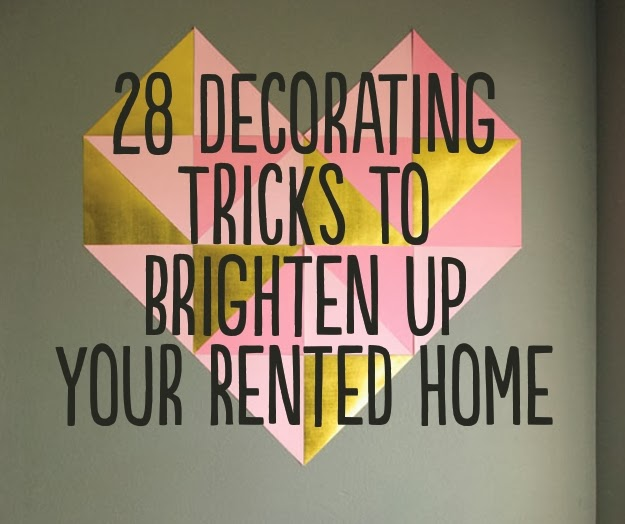28 Decorating Tricks To Brighten Up Your Rented Home Diy