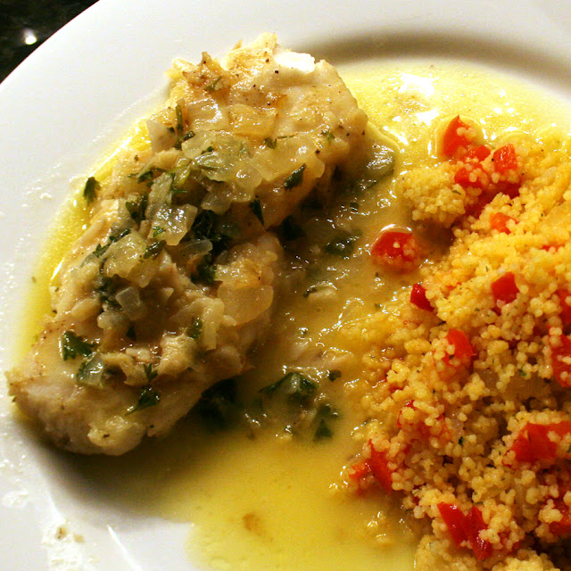 or 4 Hake Loins, thawed (I was cooking for three people, but four ...