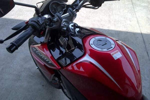 Modif Warna Yamaha New Vixion