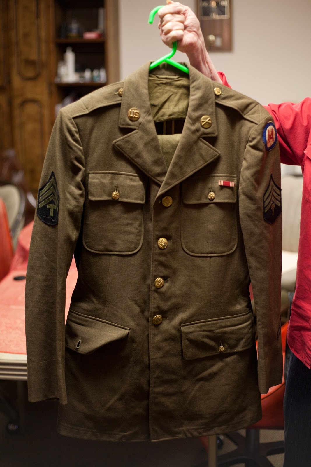 Although the original forecast for Christmas was for us to get a couple inches of snow it never happened. However once we got back to Lawton a few days ... : shadow box military uniform - Aboutintivar.Com