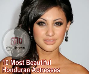 Top 10 Most Beautiful Honduran Actresses