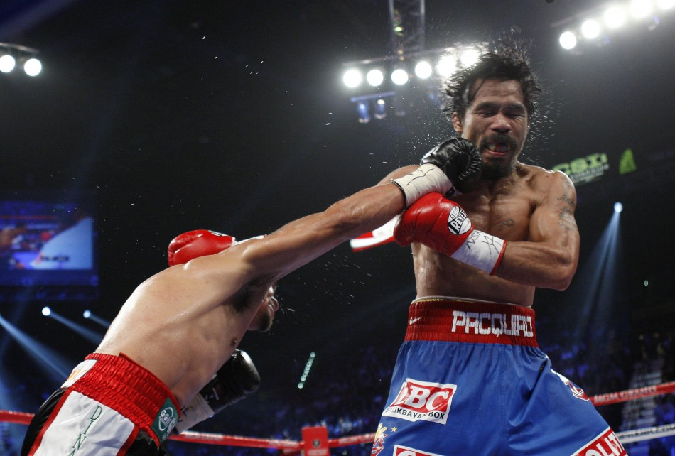 Pacquiao vs Marquez 3 Fight Result - Photos/Pictures