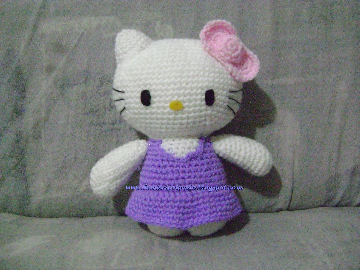 Dani Tricotando: Hello Kitty em Croch?
