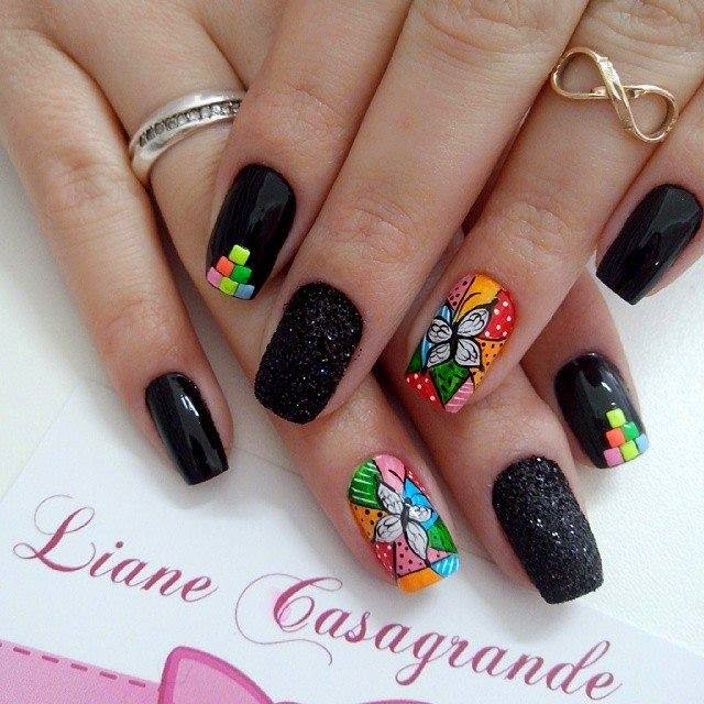 hot nails 2015 new stylish nails