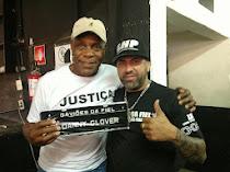 Vereador Capá com o ativista e ator norte americano Danny Glover nos Gaviões da Fiel