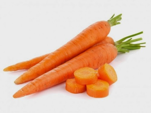 Cream of carrot tomato VS mask to combat wrinkles