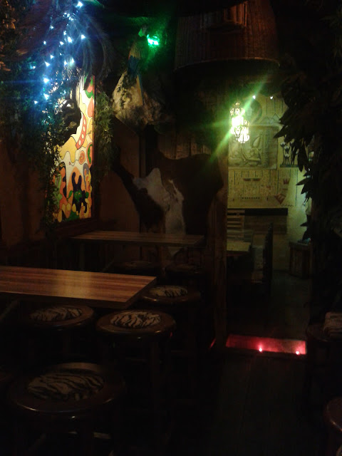 Restaurante Rustika, interior. Conde Duque.