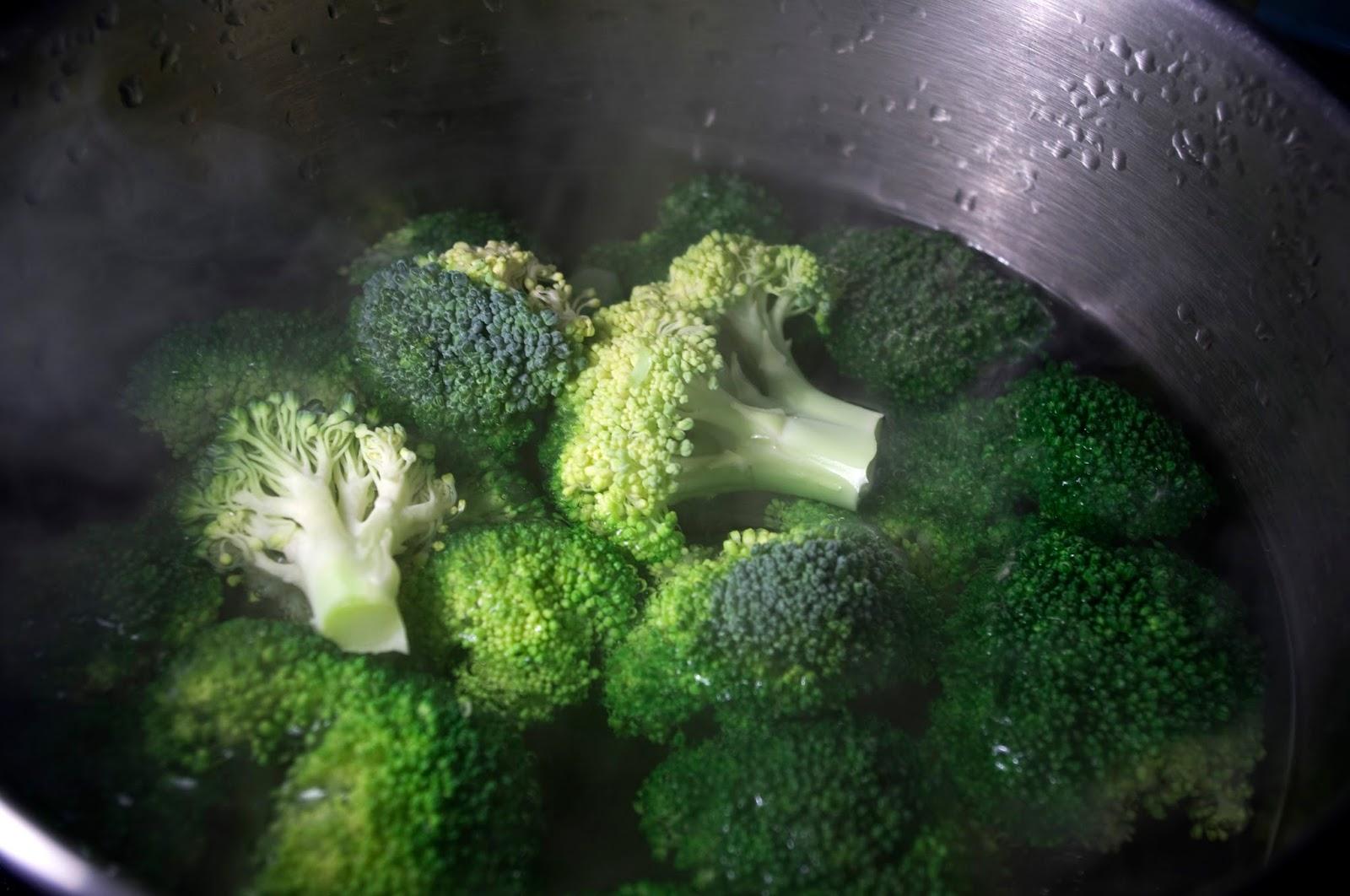 cuece brócoli