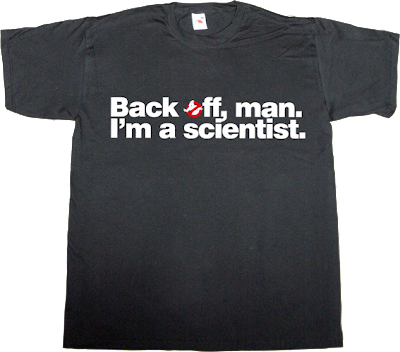 science ghostbusters fun movie t-shirt ephemeral-t-shirts