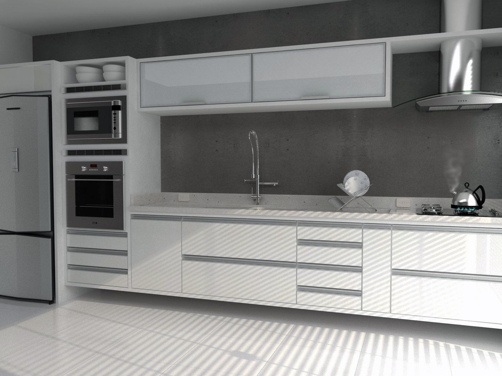Wibamp Com Armario De Cozinha Preta E Branca Id Ias Do Projeto
