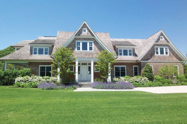 front exterior of a house in the hamptons