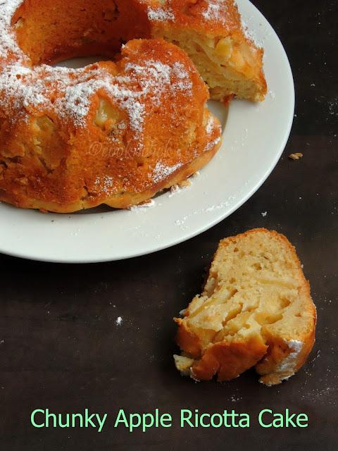 Apple ricotta coffee Cake, Apple Ricotta Cake