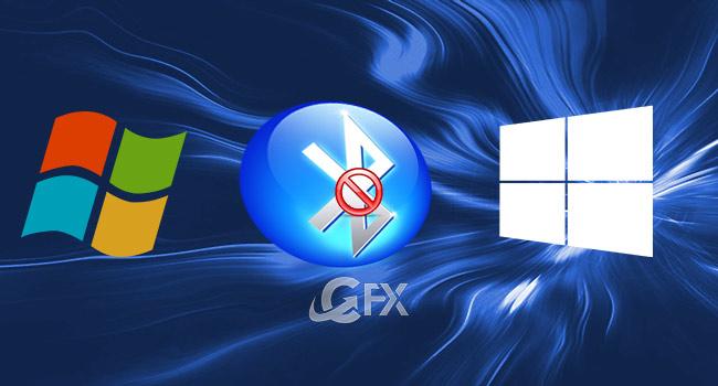 Windows 10-8 ve 7 de Bluetooth Nasıl Devre Dışı Bırakılır