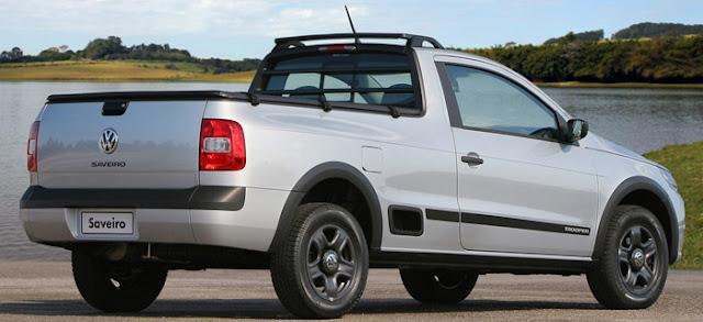 VW Saveiro Tropper 2011 - traseira - consumo