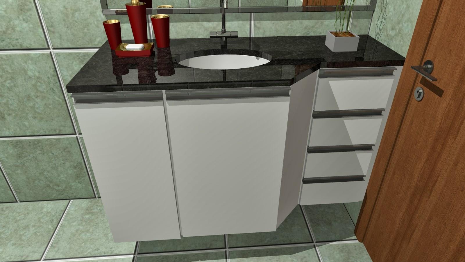 #6B3F21 Mais um projeto fechado agora uma cozinha e dois banheiros diferentes  1600x900 px Projeto De Cozinha Com Banheiro #2827 imagens