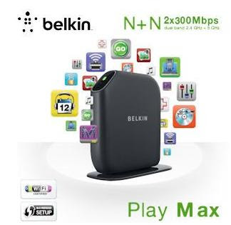 Belkin Play Max WLAN Dual-Band N+ Router (F7D4301) bei iBood für 35,90 Euro (Vergleich 64,90 Euro)
