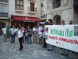 """RETIRADA """"YA"""" DE LOS SIMBOLOS FRANQUISTAS DEL MUNICIPIO DE CARTAGENA"""