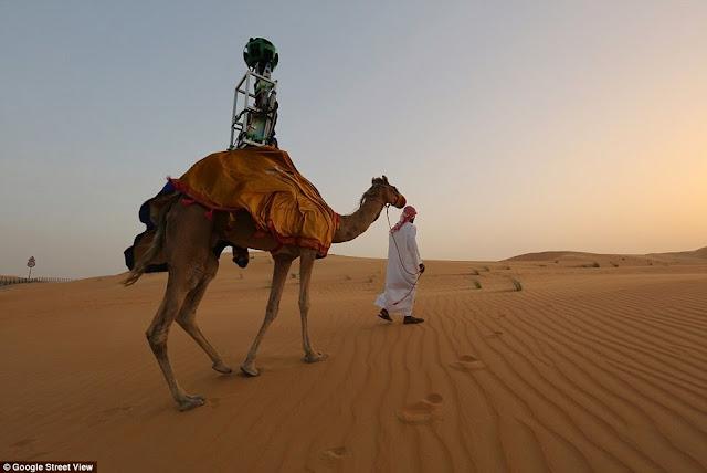 Περιπλανηθείτε στην Αραβική έρημο και τις οάσεις χρησιμοποιώντας τoν πιο πρόσφατo διαδραστικό χάρτη της Google