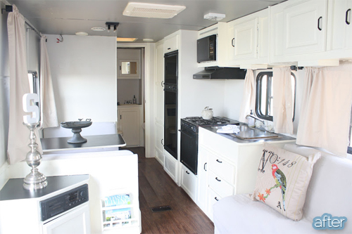 Rv rockstar better after for Decoration interieur de mobil home