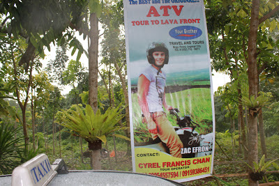 Zac Efron ATV Tour to Mayon Volcano Lava Front