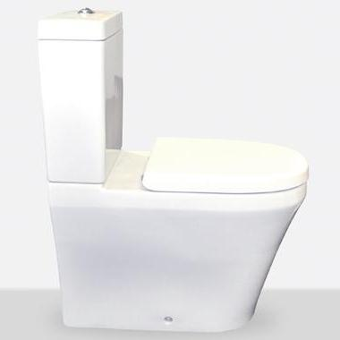 Modecor toilet suites studio bagno q comfort back to for Studio bagno q series wall faced pan