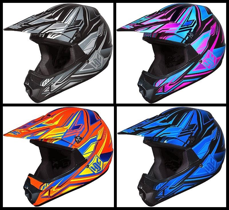 HJC Youth CL-XY Fulcrum Kids Motocross Helmet