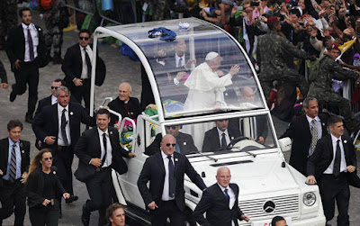 Philadelphia government used Pope Francis visit as test for city lock down, MARTIAL LAW