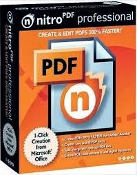 Nitro PDF 9 Pro (2014) Free Download Ffull With Product Key / Keygen / Crack For Windows