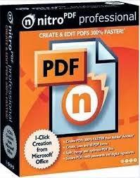 Nitro PDF 9 Pro (2014) Free Download Ffull With Product Key / Keygen / Crack For Windows