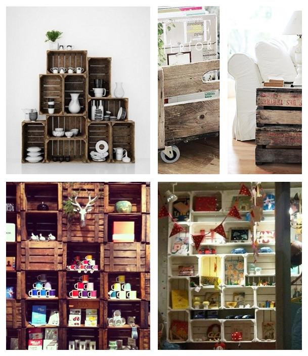 Recortes decorados decora con cajas de frutas y verduras - Botes almacenaje cocina ...