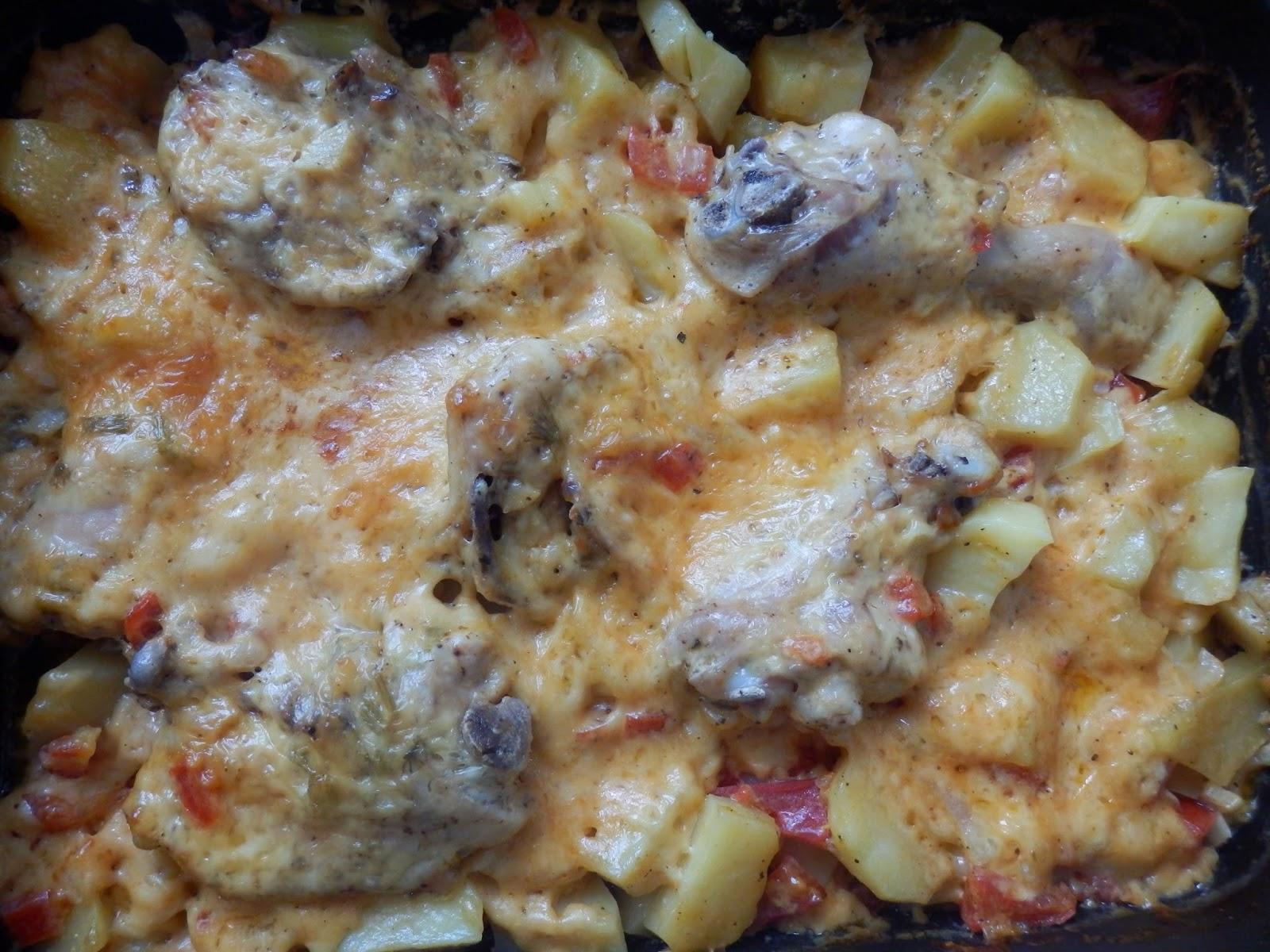 Рис с курицей в духовке на протвине рецепт пошагово в