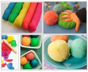 Teaching skills to a child with Autism using Play dough