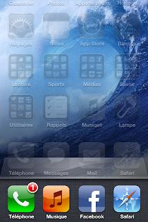 applications iphone en multitache