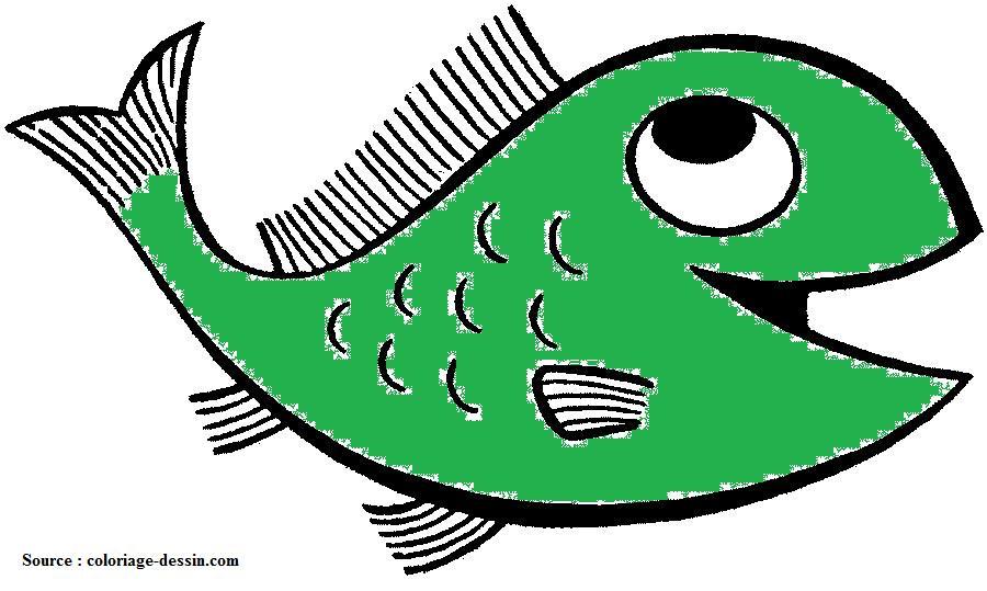 dessins de poissons
