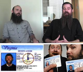 Foto Identitas SIM Paling Aneh dan Tidak Biasa