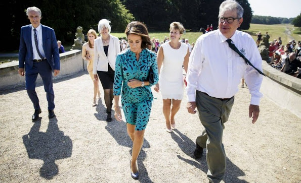 Princess Marie Attended A Reception In Copenhagen