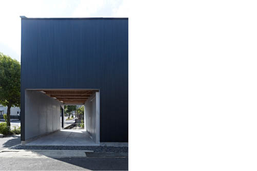 Airhole House Design by Masahiro Kinoshita