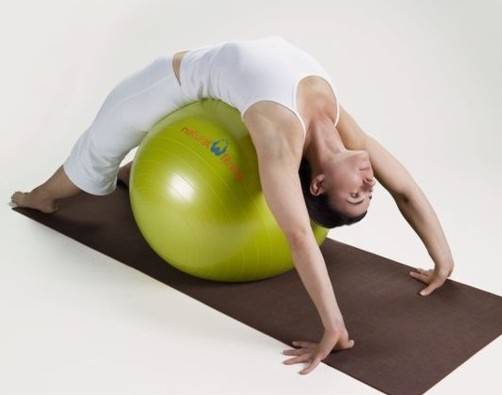 Bustin my nut on an exercise balls