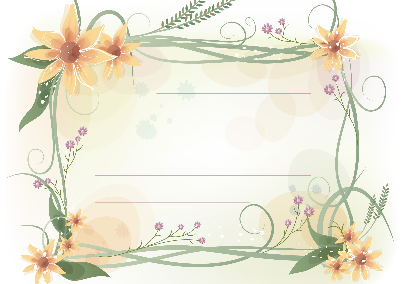 La p gina de inesita bonitas plantillas para cartas - Plantillas para dibujar en la pared ...