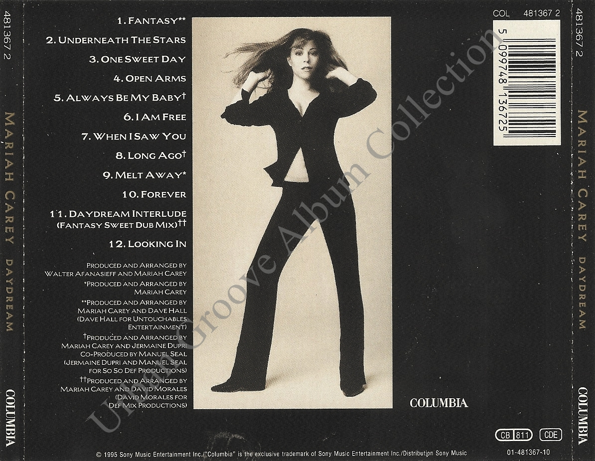 Mariah Carey - DayDream (1995) R&B Female | Urban Groove ...