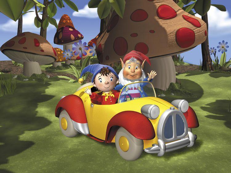 Imagenes de dibujos animados noddy - Oui oui et le train ...