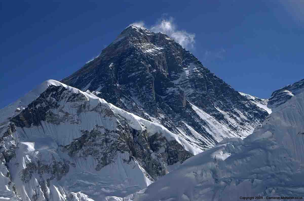 Mount Everest Highest Peak Mount Everest With a Peak