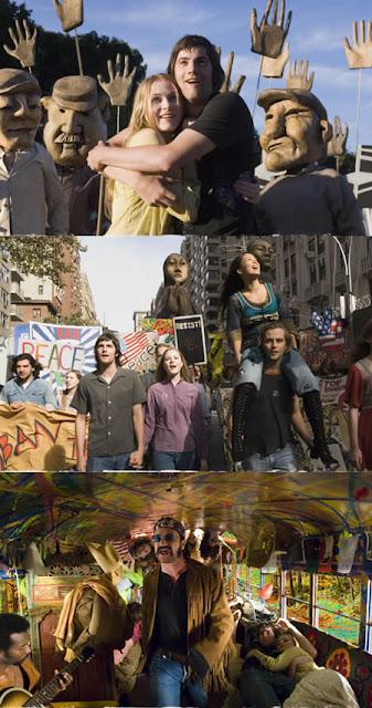Imagenes de la películas A Traves del Universo.