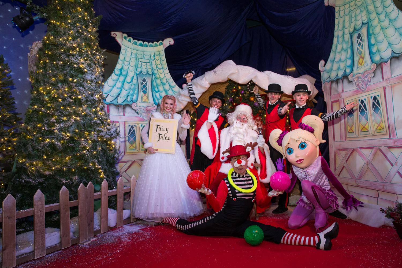 Santa's Grotto,  Blackpool Pleasure Beach and Arena
