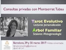 ¡MARZO 2017! Montserrat Tubau en BARCELONA