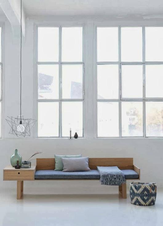 leuchtend grau interior magazin celebrating soft minimalism neues von house doctor. Black Bedroom Furniture Sets. Home Design Ideas