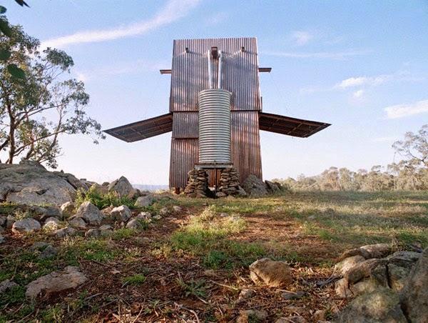 Australian petite maison d'hôtes.