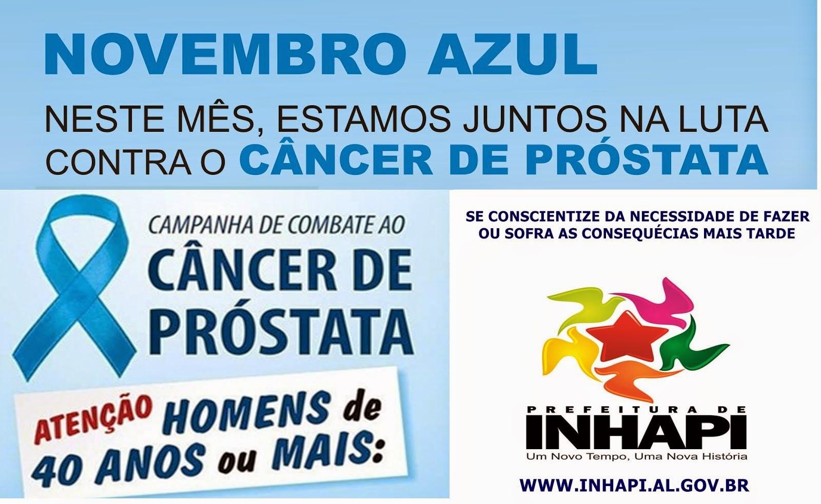 Novembro Azul: neste mês, estamos juntos na luta contra o câncer de próstata